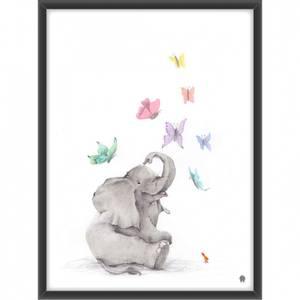Bilde av Elefanten og sommerfuglene
