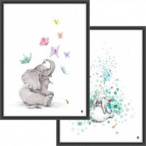 Bilde av PAKKETILBUD Elefanten og boblene + Elefanten og