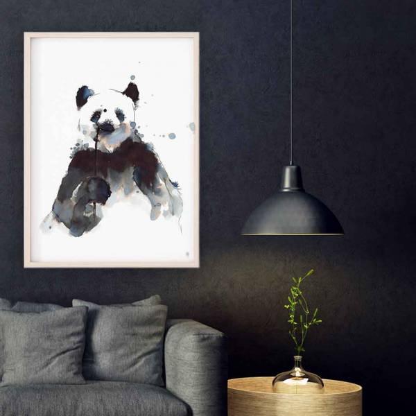 Panda med kvist