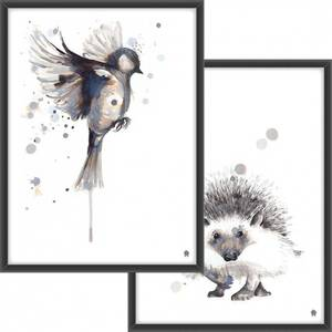 Bilde av PAKKETILBUD Fuglen som flyr + Pinnsvinet
