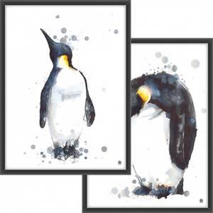 Bilde av PAKKETILBUD Pingvinen i blekk + Pingvinen som ser opp