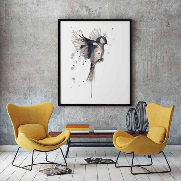 PAKKETILBUD  Elgen i blekk + Fuglen som flyr