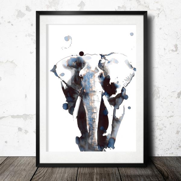 Elefanten i blekk