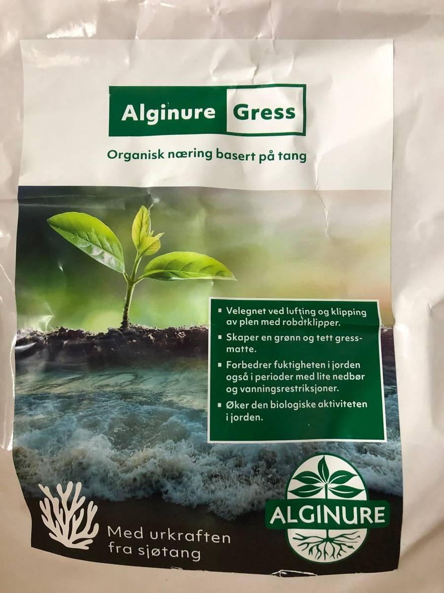 Alginure Gress - Organisk gjødsel av tang, 5 kg