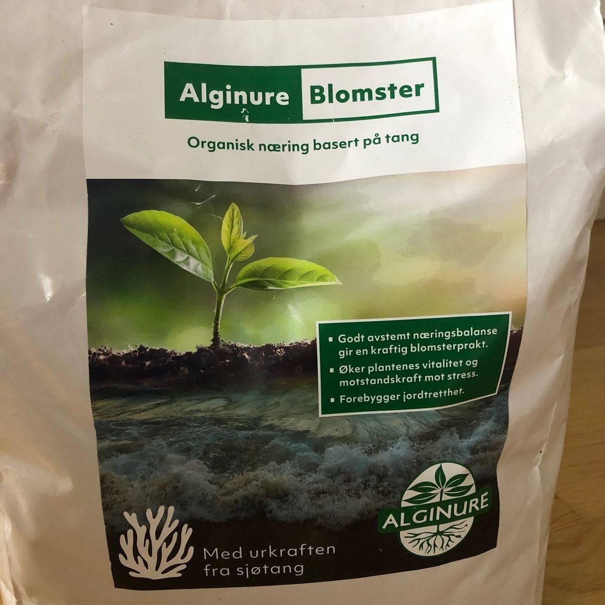 Alginure Blomster - Organisk gjødsel av tang