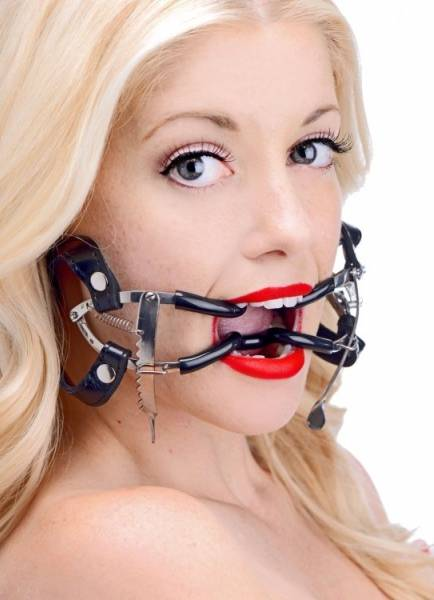 Bilde av Master Series - Ratchet Style Jennings Mouth Gag with Strap
