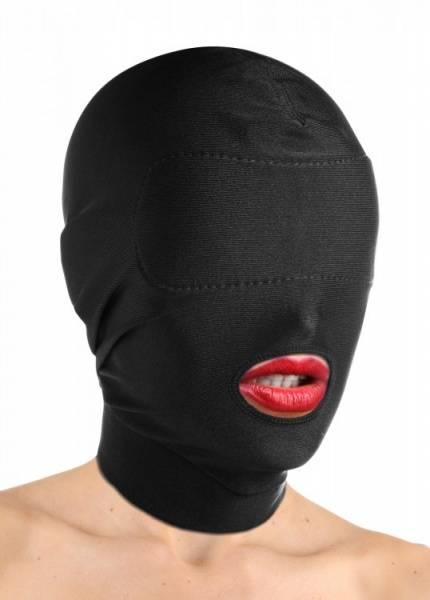 Bilde av Master Series - Disguise Open Mouth Hood with Padded Blindfold