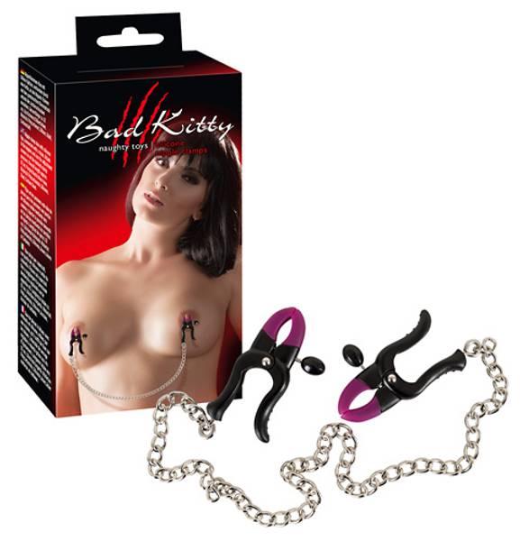 Bilde av Bad Kitty - Silicone Nipple Clamps