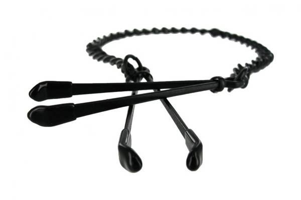 Bilde av Master Series - Reign Noir Black Nipple Tweezer Clamps