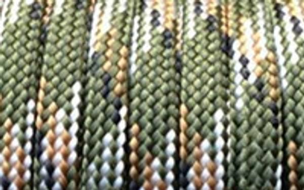 Bilde av 550 Paracord - Type III - 30m - Olivengrønn Camo