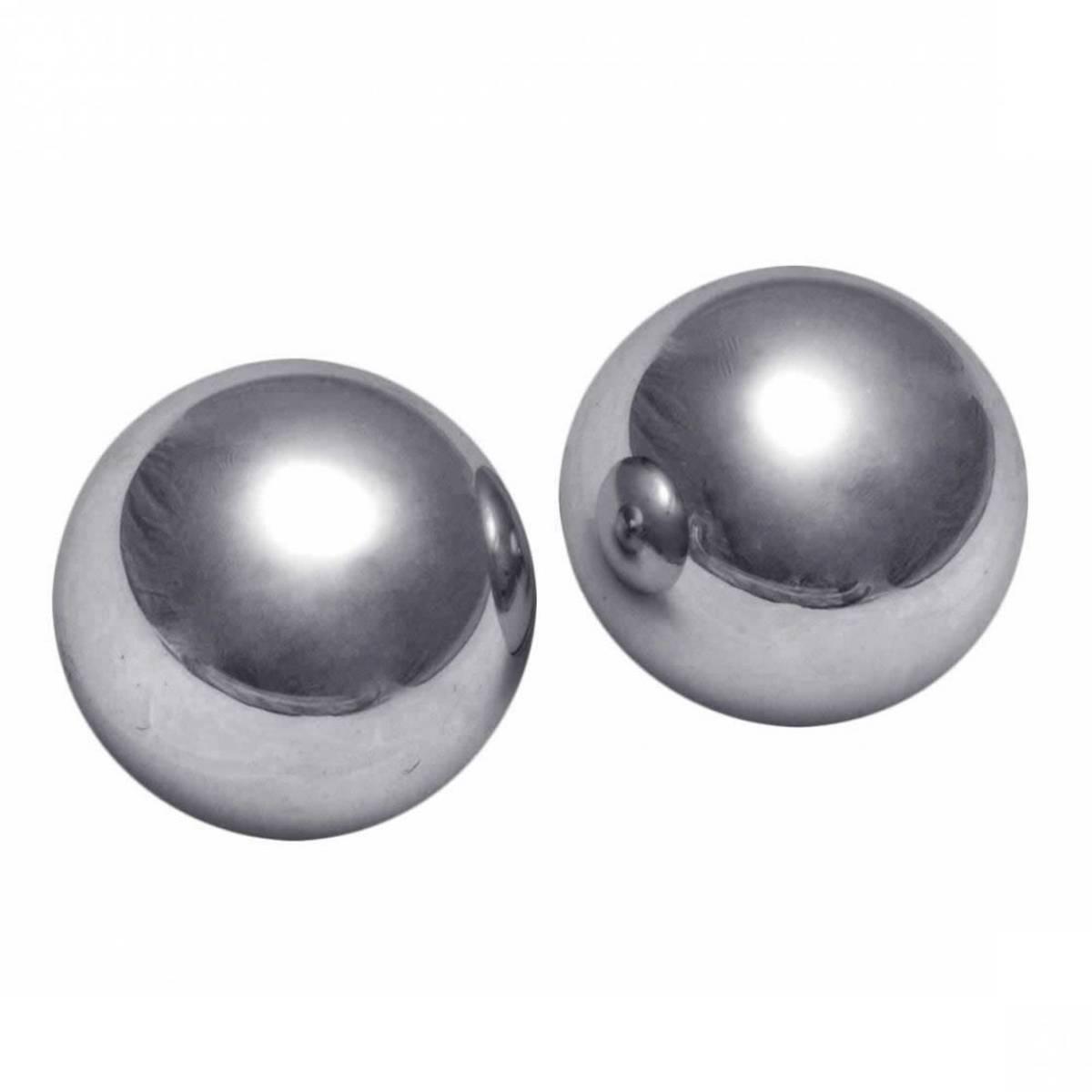 Master Series - Titanica Extreme Steel Orgasm Balls