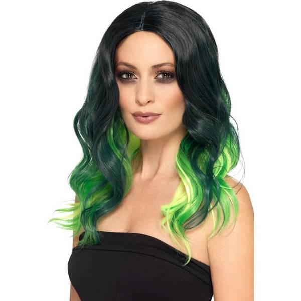 Bilde av Deluxe Ombre Wig, grønn