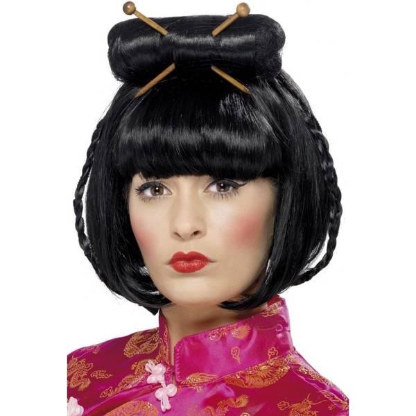 Bilde av Oriental Lady Wig, svart