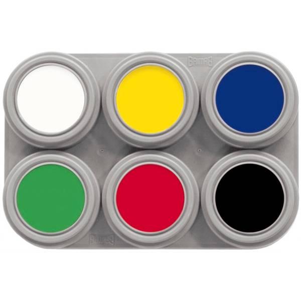Bilde av A6 Vannsminke palett, 6 x 2,5 ml