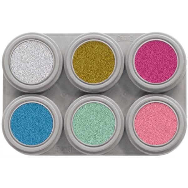 Bilde av P6 Vannsminke palett, 6 x 2,5 ml perlemor