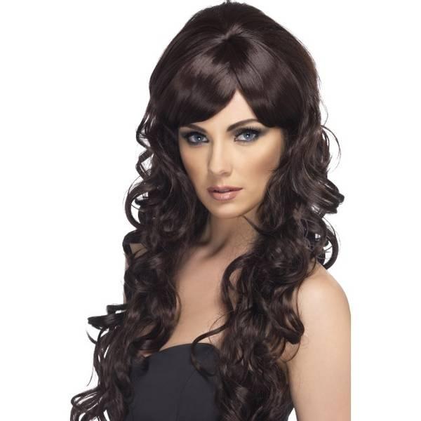 Bilde av Pop Starlet Wig, brun