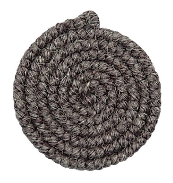 Bilde av 15 Mørk grå ullcrepe 1 meter
