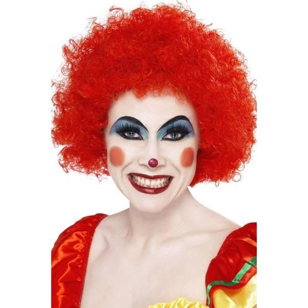 Bilde av Crazy Clown Wig, rød