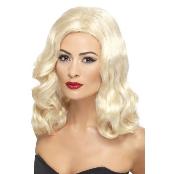 Bilde av 20'S Luscious Long Wig, lys blond