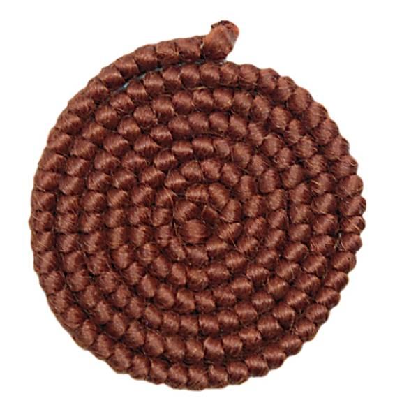Bilde av 08 Mørk kastanjebrun ullcrepe 1 meter