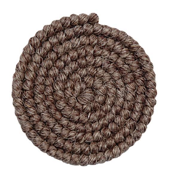 Bilde av 21 Mørk gråbrun ullcrepe 1 meter
