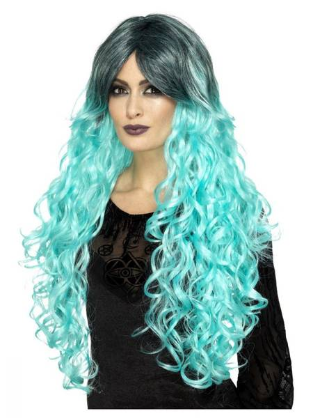 Bilde av Gothic Glamour Wig, turkis