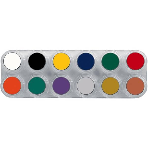 Bilde av F12 Fettsminke, palett 12 x 2,5 ml