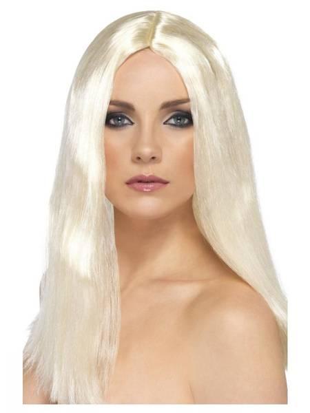 Bilde av Star Style Wig, lys blond