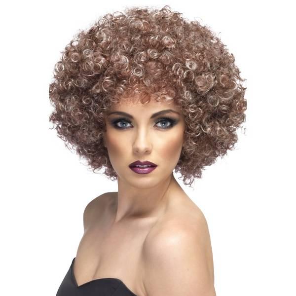 Bilde av Afro Wig, lys brun