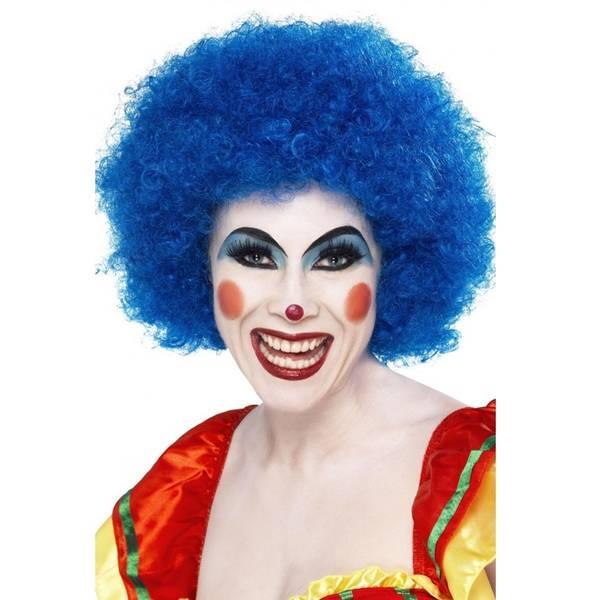 Bilde av Crazy Clown Wig, blå