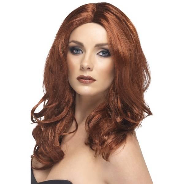Bilde av Superstar Wig, rødbrun