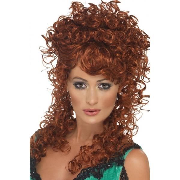 Bilde av Saloon Girl Wig, rødbrun