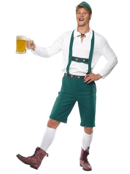 Bilde av Oktoberfestkostyme, grønn