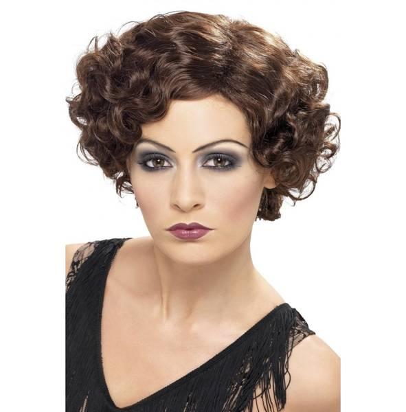 Bilde av 20's Flirty Flapper Wig, brun
