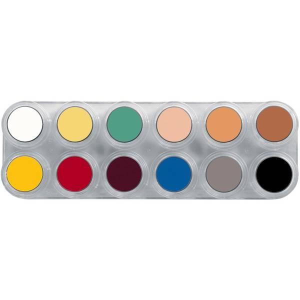 Bilde av L12 Fettsminke, palett 12 x 2,5 ml