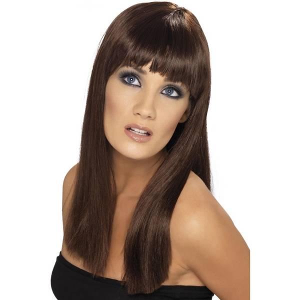Bilde av Glamourama Wig, brun