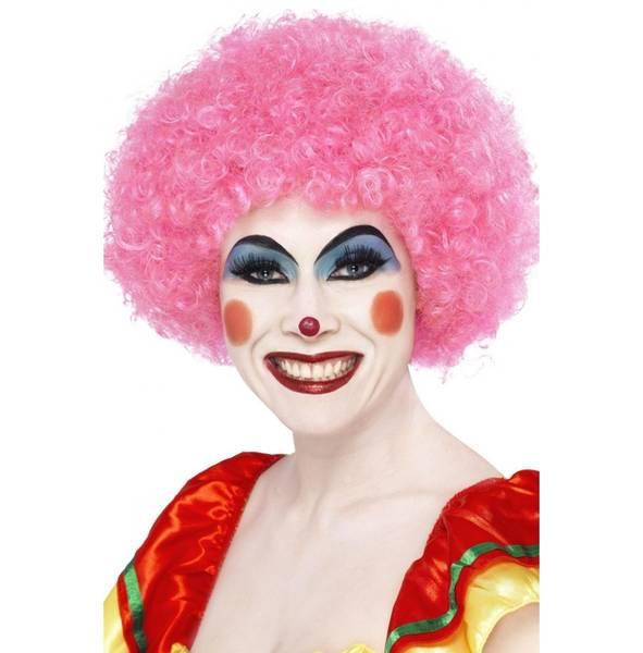 Bilde av Crazy Clown Wig, rosa