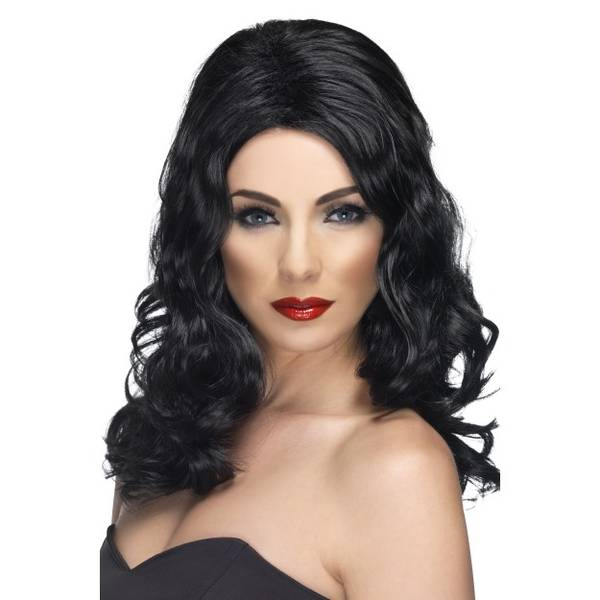 Bilde av Glamorous Wig, svart