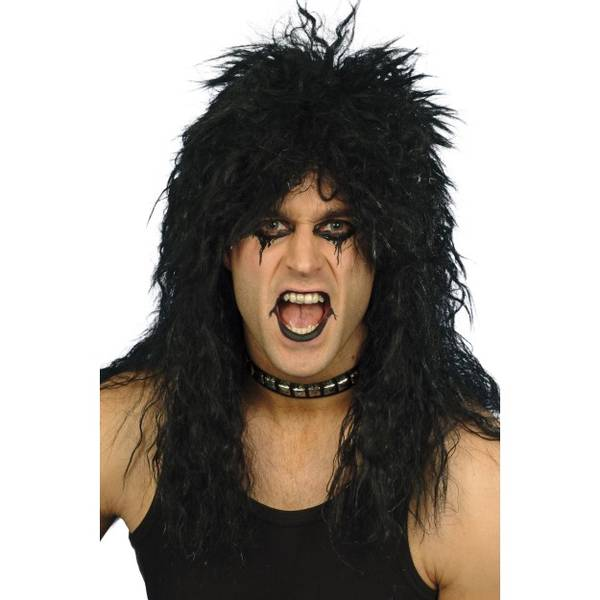Bilde av Hard Rocker Wig, svart