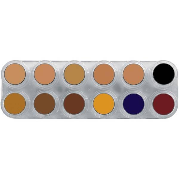 Bilde av CB12 Camouflage Palett 12x2,5 ml