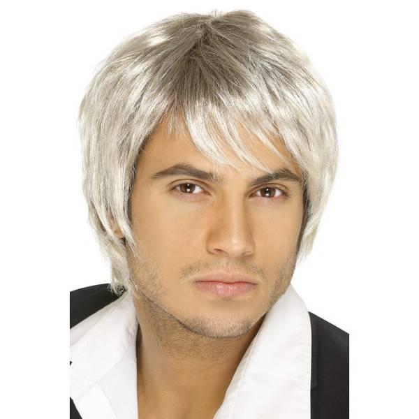Bilde av Boy Band Wig, blond/brun