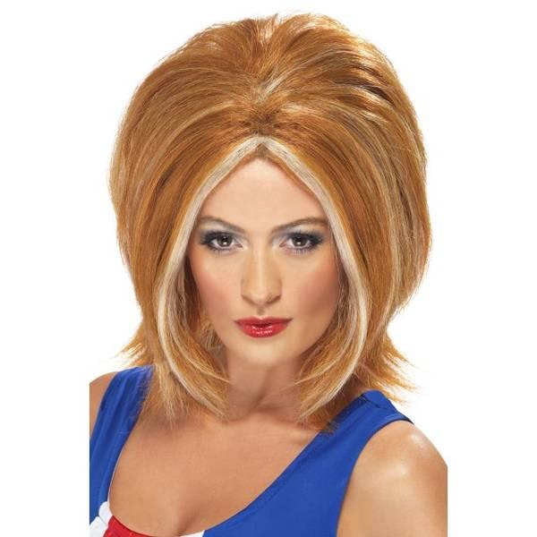 Bilde av Girl Power Wig, rød/blond