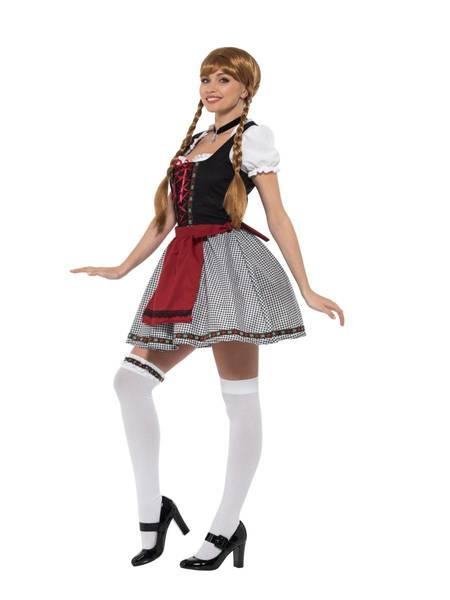 Bilde av Flirty Frulein Bavarian Kostyme