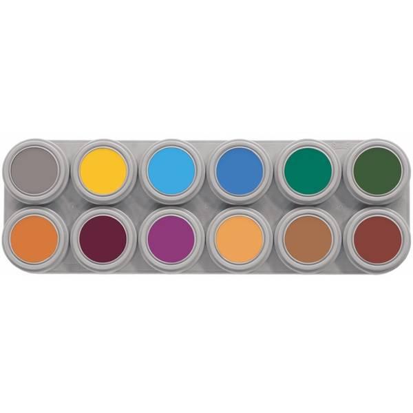 Bilde av B12 Vannsminke palett, 12 x 2,5 ml