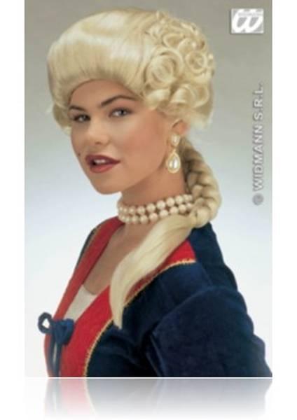 Bilde av Duchess Josephine, blond middelalderparykk