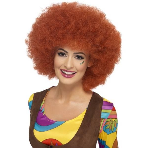 Bilde av 60's Afro Wig, rødbrun