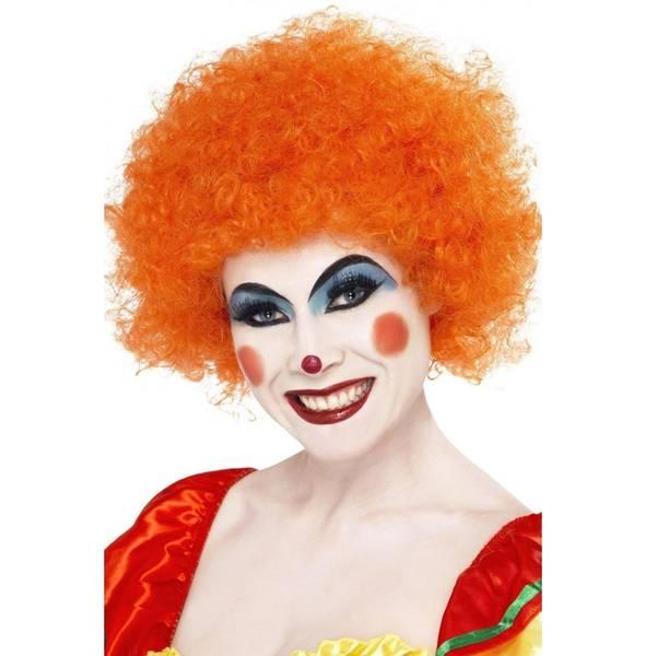 Bilde av Crazy Clown Wig, oransje