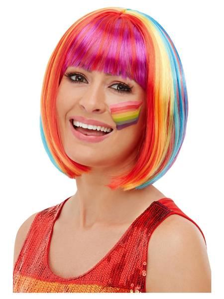 Bilde av Rainbow Bob Wig, flerfarget