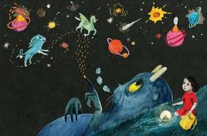 Bilde av Jill Moursund, Stjernenatt