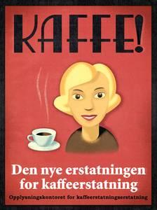 Bilde av Ragnar Aalbu, Kaffe